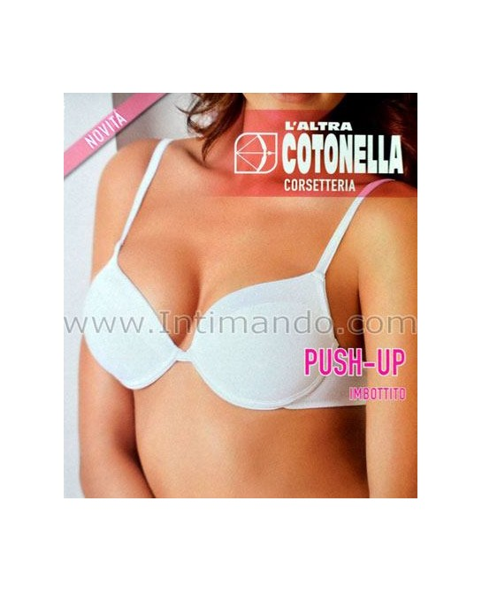 Reggiseno push-up Cotonella raso