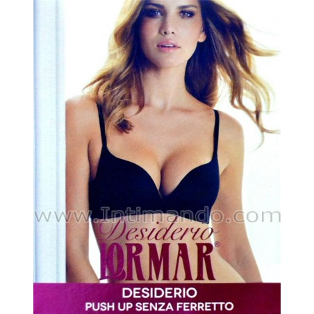 Reggiseno push-up senza ferretto Lormar