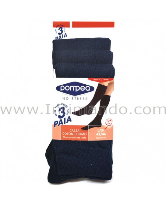 POMPEA hot cotton knee-high (3 pairs)