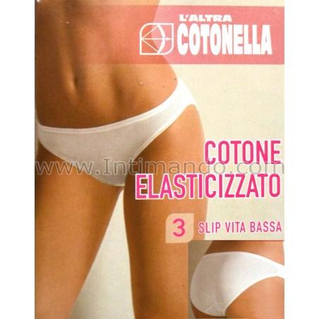 Slip vita bassa donna Cotonella