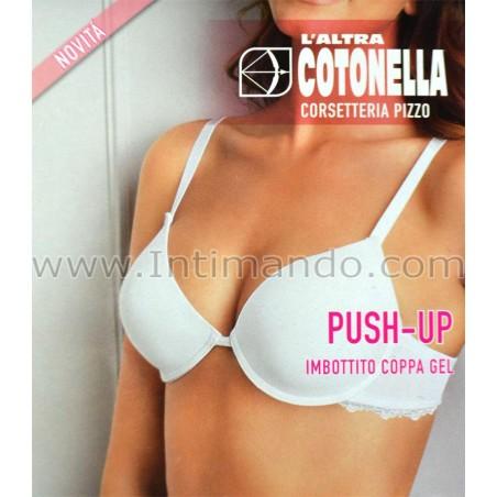 Reggiseno push-up cotonella