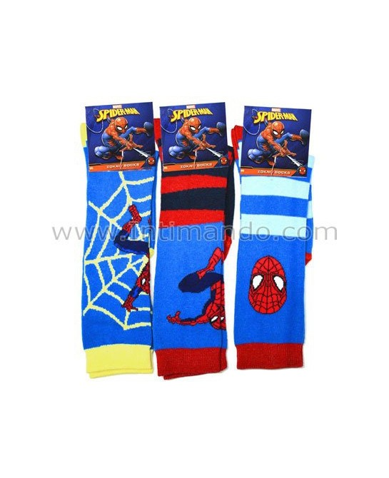 calzini spiderman MARVEL art. 2400 (3 paia)