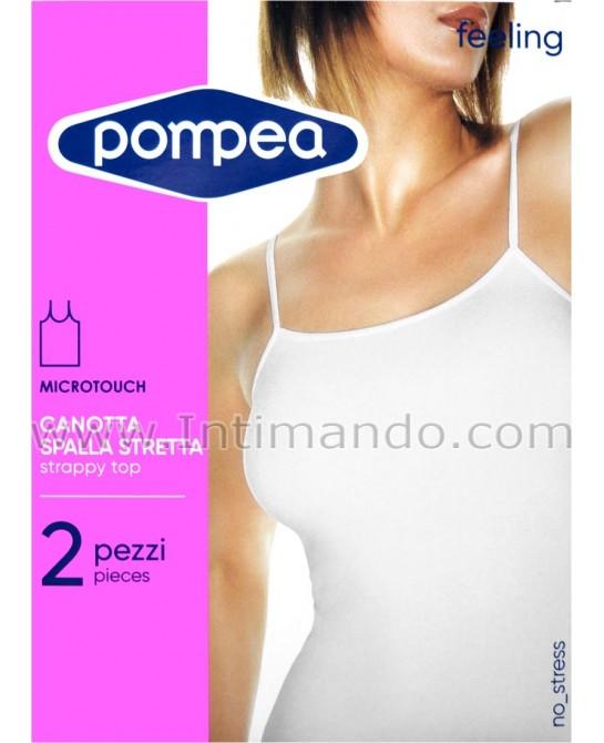 POMPEA art. Canotta SS feeling (bipack)