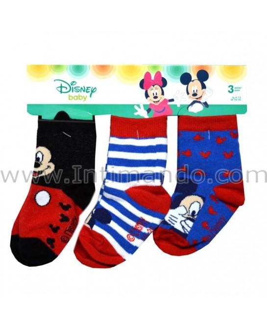 DISNEY BABY art. ST1101 (3 pairs)