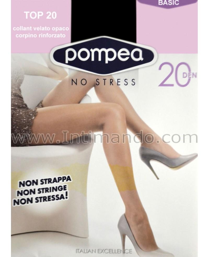 prezzo migliore grandi affari sulla moda miglior posto per Pompea 20 den every day tights with elastane, matt, comfortably panty,  non-constraining waistband, reinforced toes.
