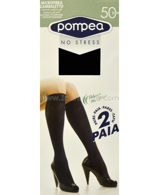 POMPEA Gambaletto microfibre 50 (2 pairs)
