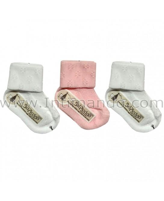 LA PRIMA CALZA Bel Piccino 4166t (3 pairs)